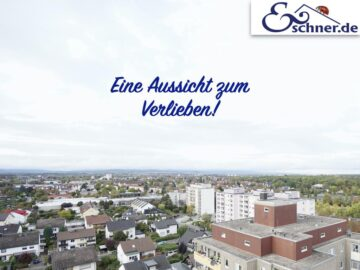 Mit Aussicht: Freundliches 1-Zimmer-Appartement?in Rüsselsheim am Main, 65428 Rüsselsheim, Wohnung